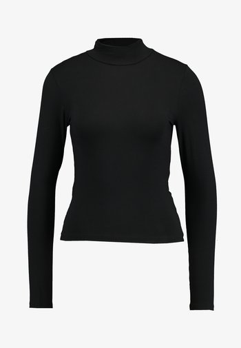 DORSIA - Camiseta de manga larga - black
