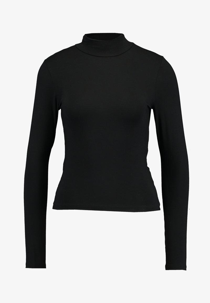 Gina Tricot DORSIA - Langarmshirt - black/white/yellow/schwarz IPzU4l