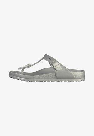 GIZEH - Pool shoes - silver