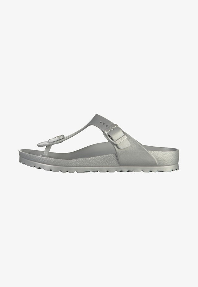 GIZEH - Teenslippers - silver