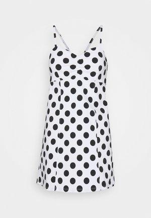 SPOT BENGA DRESS - Day dress - white