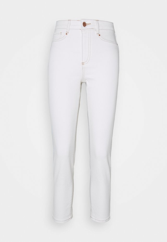 Jeansy Slim Fit - off-white