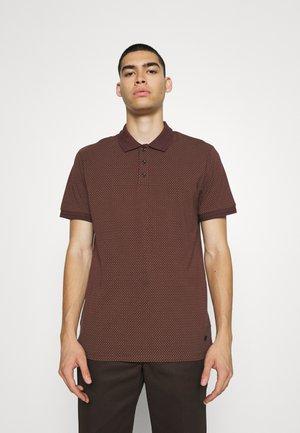 JPRBLALOGO STRETCH - Polo shirt - fudge