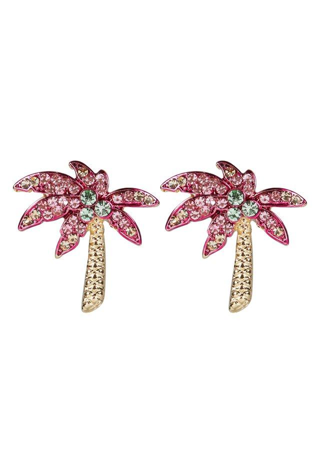 PALM TREE  - Pendientes - pink