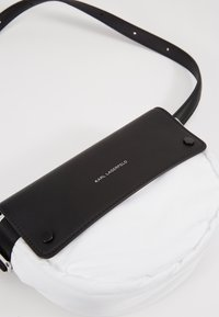KARL LAGERFELD - IKON BELT BAG - Bum bag - white - 6