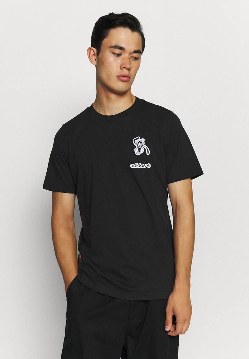 adidas Originals - GOOFY  TEE - T-shirts print - black