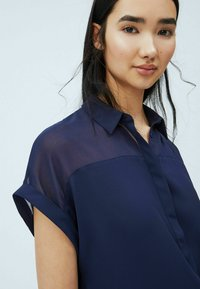 Pepe Jeans - MINA - Button-down blouse - thames - 3