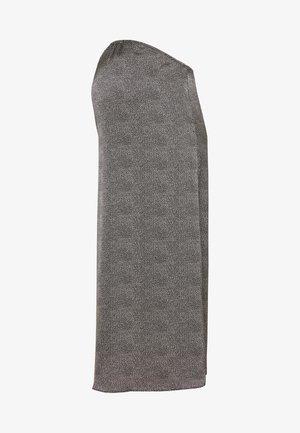 MIDI SKIRT SPOT - A-line skirt - black