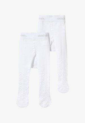BABY 2 PACK FILETOPTIK - Panty - weiß