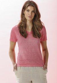 Rosa & Me - Print T-shirt - pink lemon - 1