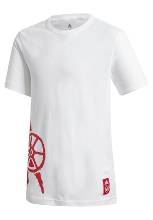 ARSENAL GRAPHIC T-SHIRT - Klubtrøjer - white