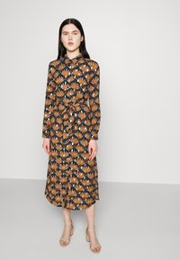 Vila - VIZINO MIDI DRESS - Shirt dress - navy blazer - 3