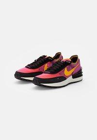 Nike Sportswear - WAFFLE ONE - Sneaker low - active fuchsia/univ gold-black-coconut milk-mtlc silver-orange - 5
