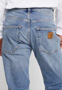 Carhartt WIP - KLONDIKE MILLS - Straight leg jeans - blue worn bleached - 3
