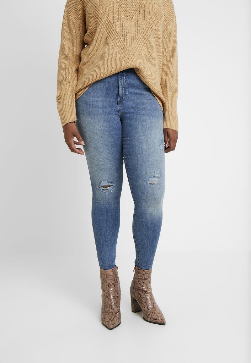 Vero Moda - Jeans Skinny Fit - medium blue denim