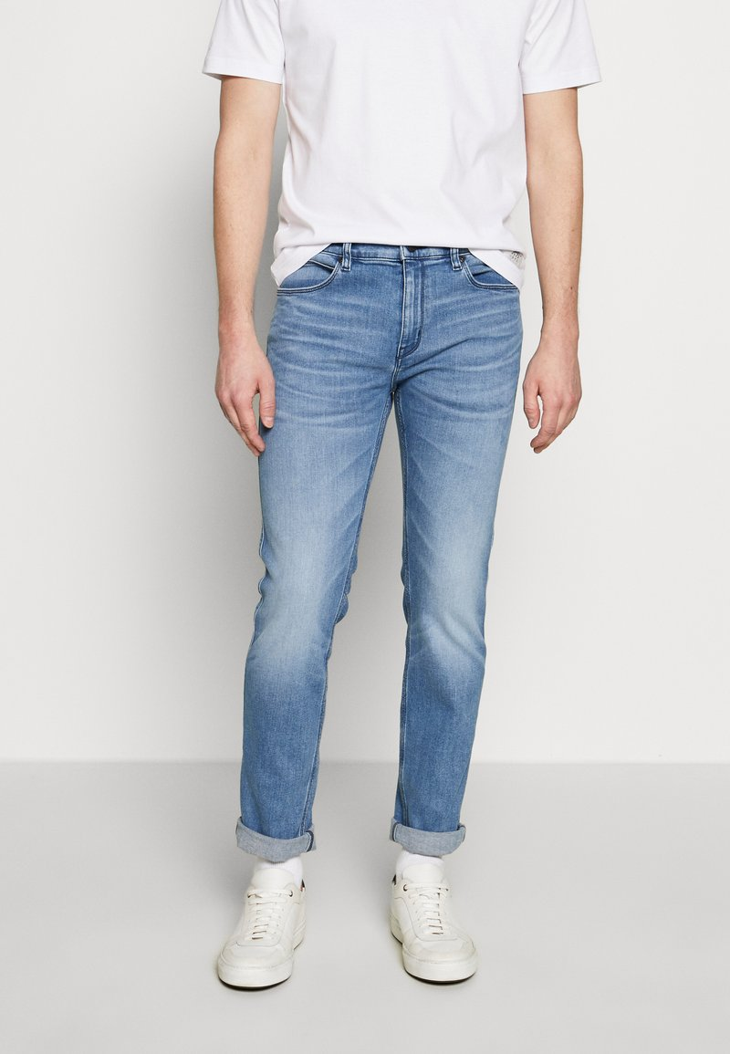 HUGO - Slim fit jeans - bright blue