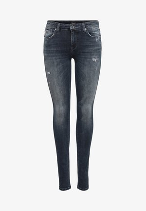 ONLCARMEN - Jeans Skinny Fit - blue black denim