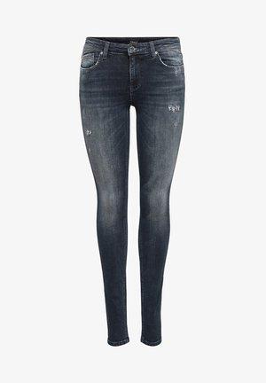 ONLCARMEN - Jeans Skinny Fit - blue black denim