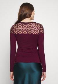 Anna Field - T-shirt à manches longues - winetasting - 2