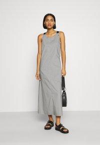 G-Star - UTILITY DRESS - Robe d'été - charcoal - 1