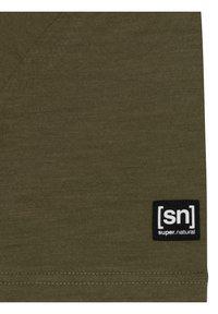super.natural - Print T-shirt - olivgrün - 4
