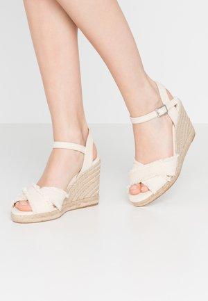 ONAREWIA - Sandály na vysokém podpatku - natural