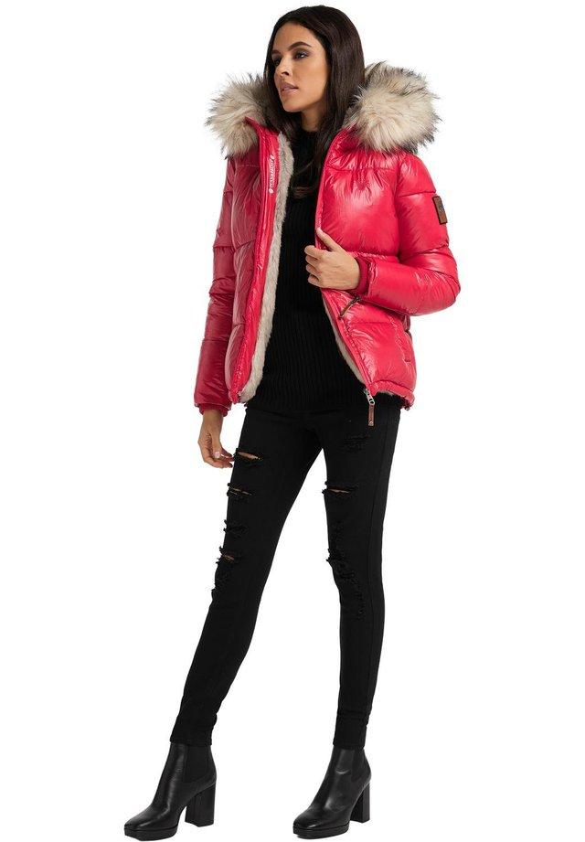 TIKUNAA - Winter jacket - red