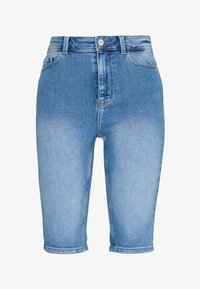 PIECES Tall - PCKAMELIA  - Denim shorts - light blue denim - 3