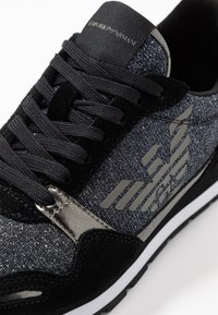 Emporio Armani - Trainers - black/gold - 2