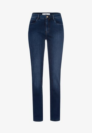 STYLE CAROLA - Slim fit jeans - used dark blue
