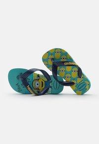 Havaianas - MINIONS UNISEX - T-bar sandals - blue/navy - 5