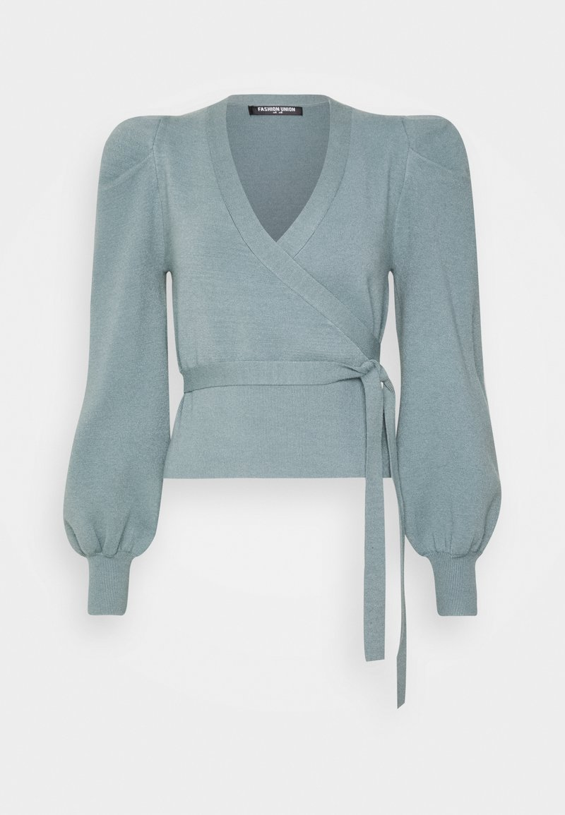 Fashion Union - BALLET - Cardigan - green