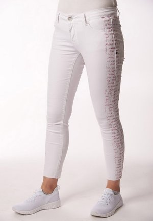 ITALY STRETCH - Jeans Skinny Fit - white