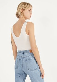 Bershka - Top - white - 2