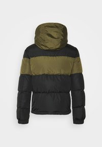 Belstaff - DOME JACKET - Down jacket - black/sage green - 9