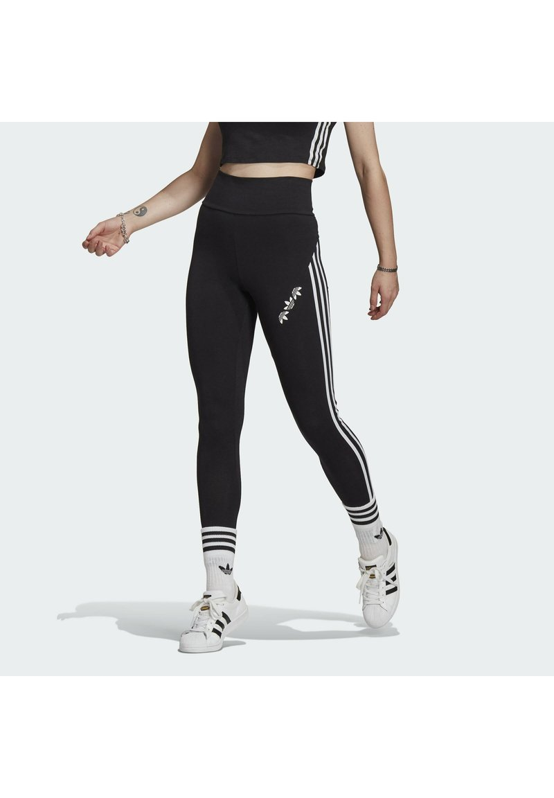 adidas Originals - HW TIGHTS - Leggings - black
