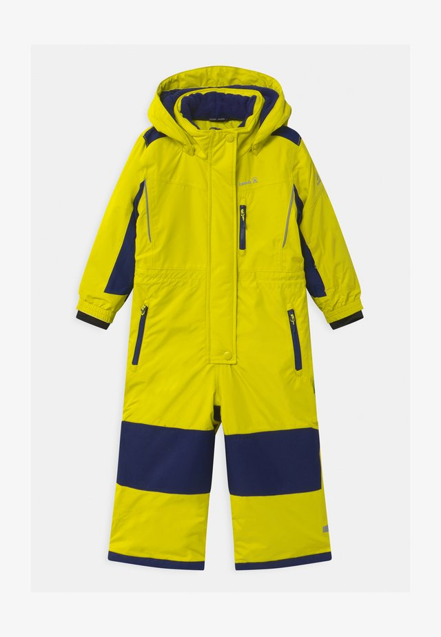 LAZER UNISEX - Snowsuit - lime