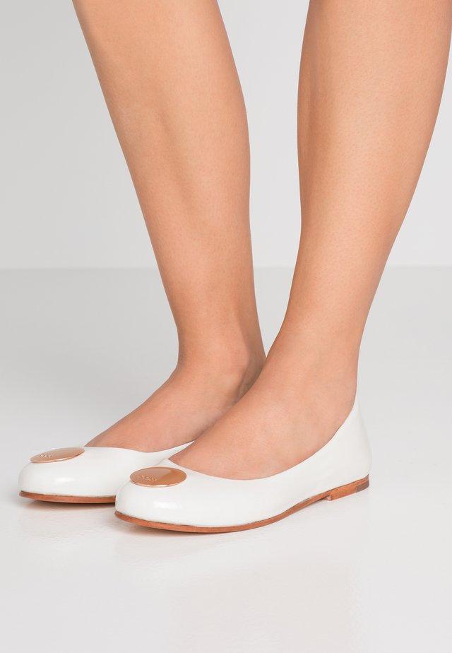 ANTHEA  - Ballerinaskor - white