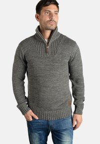 Solid - PHILOSTRATE - Jumper - dark grey - 0