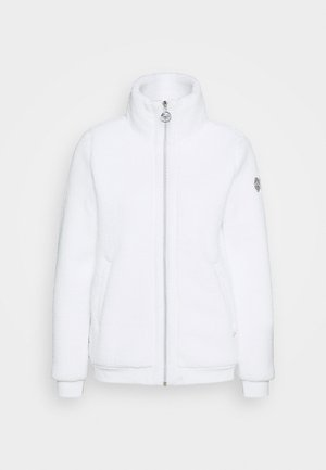 EDINA - Fleecejacke - optic white