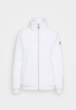 EDINA - Fleece jacket - optic white