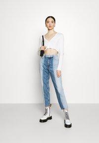 Monki - Straight leg jeans - blue medium dusty - 1