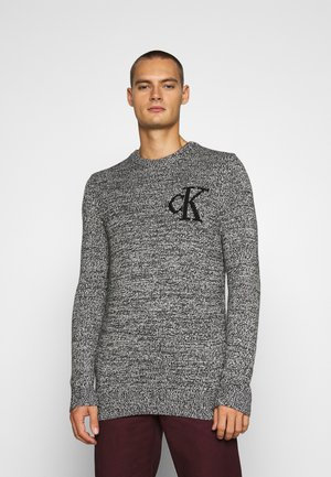 TWISTED YARN LOGO  - Jumper - black