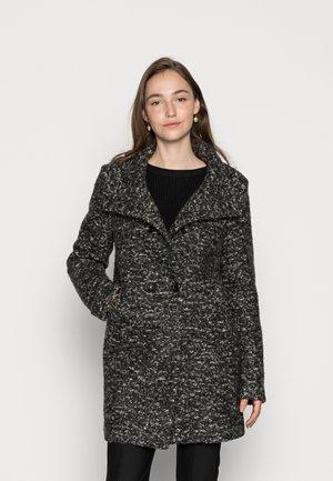 ONLNEWSOPHIA COAT - Klasický kabát - blackmelange white