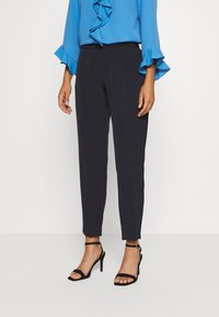 Wallis Petite - PULL ON TROUSER - Trousers - navy - 0