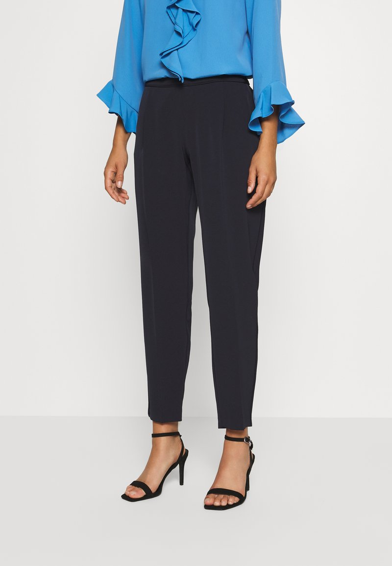 Wallis Petite - PULL ON TROUSER - Trousers - navy