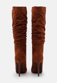 RAID - SELAH - High heeled boots - cognac - 3