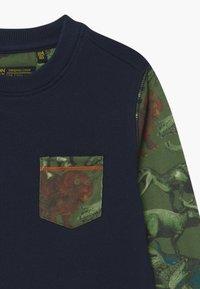 Lemon Beret - SMALL BOYS - Sweater - navy blazer - 2