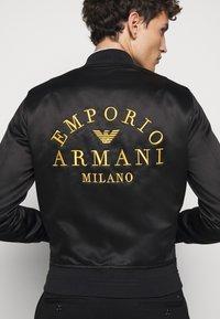Emporio Armani - Bomberjakke - black - 6