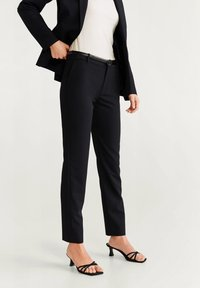 Mango - BOREAL6 - Spodnie garniturowe - black - 0